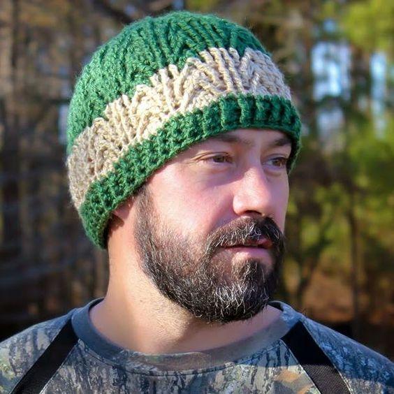 Crochet Hat Free Pattern Man : Crochet hat patterns, Crochet hats and Hat patterns on ...