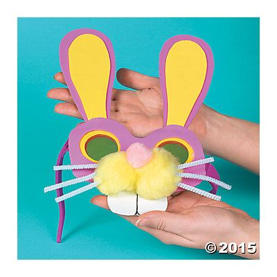 Easter Bunny Glasses Idea | It's easy to see why kids will love this Easter bunny craft! Perfect for home or school. #Easter #crafts