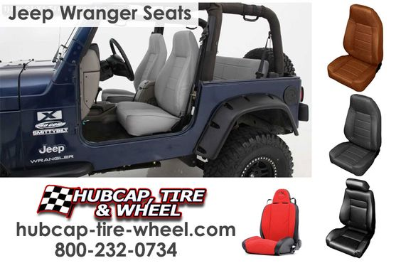 Find replacement Jeep Wrangler seats with FREE shipping!