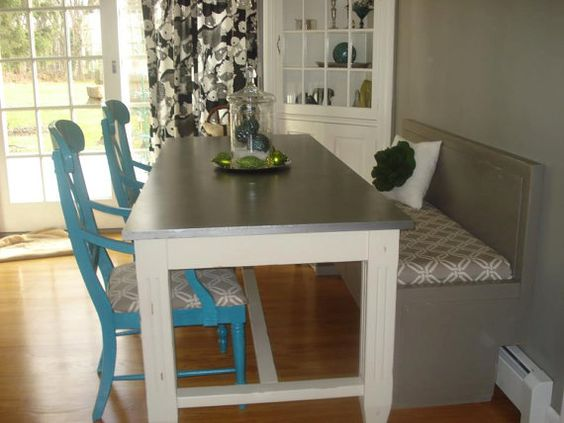 Space saving dining set up dining room pinterest for Space saving dining set