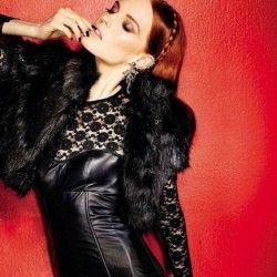 """""""Allure Fatale"""" : Karoline Bjørnelykke : Glamour Italia January 2013 : Fabio Leidi"""