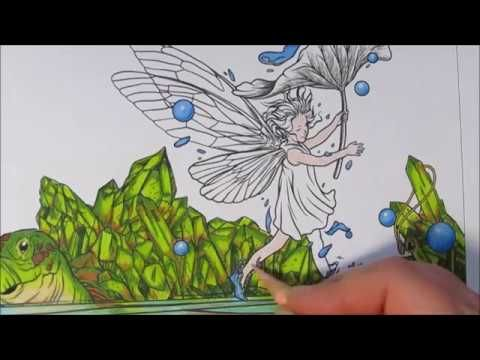 Coloring Book Mythographic Imagine Turtle And Little Elf Youtube Wenn Du Mal Buch Farben Ausmalen