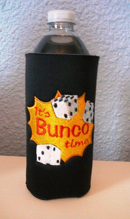Bunco Bottle Cozy   www.lindasoriginals.etsy.com
