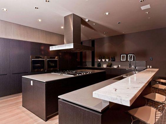Raumausstattung Ideen. Moderne Raumausstattung Küche Insel Designs