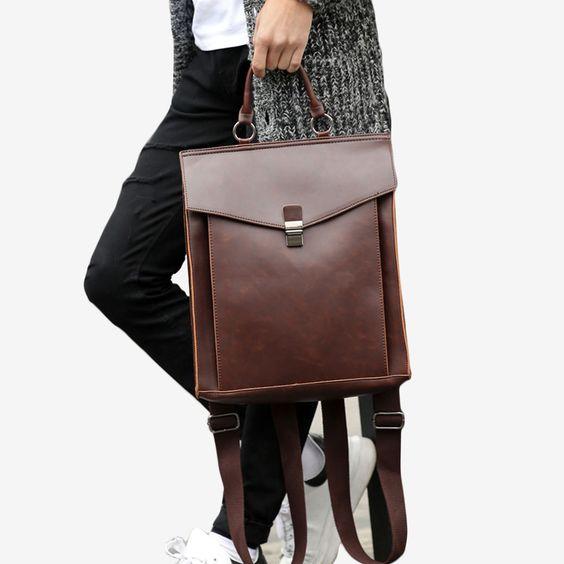 Chiba Vintage Backpack - Tokyo Bags