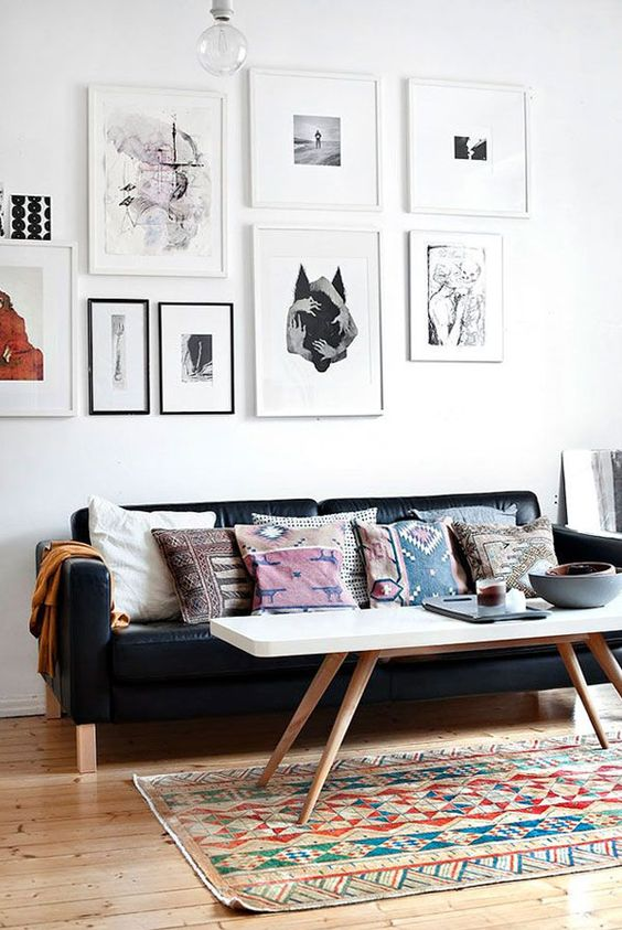 Apartment 34   Six Tips for Hanging the Perfect Gallery Wall