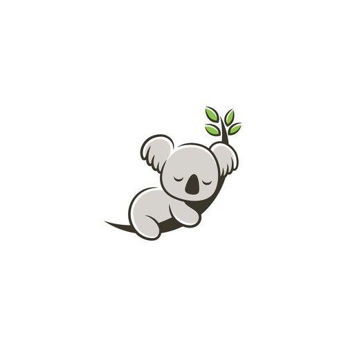 Cute Koala Illustration For Logo And Brand Needed Illustration Or Graphics Contest Design Illus Cute Small Drawings Cute Cartoon Wallpapers Koala Illustration