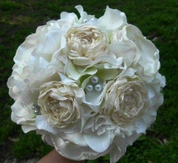Hey, I found this really awesome Etsy listing at https://www.etsy.com/listing/153328953/wedding-bouquet-ranunculus-handmade