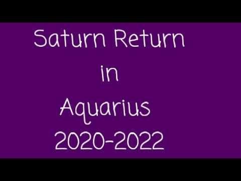 Saturn Return In Aquarius 2020 2022 The Ancients Arise