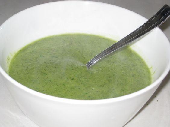 GOOP Detox Recipe: Broccoli and Arugula Soup