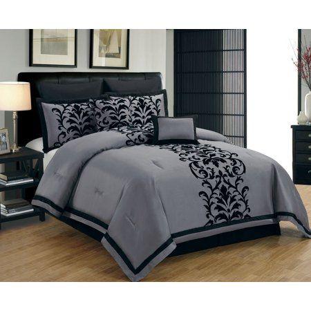 Pin On Stylish Dresses For Girls Black full size bed set