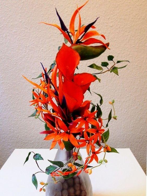 Paradiesvogel-Bouquet/ Bird of Paradise Bouquet