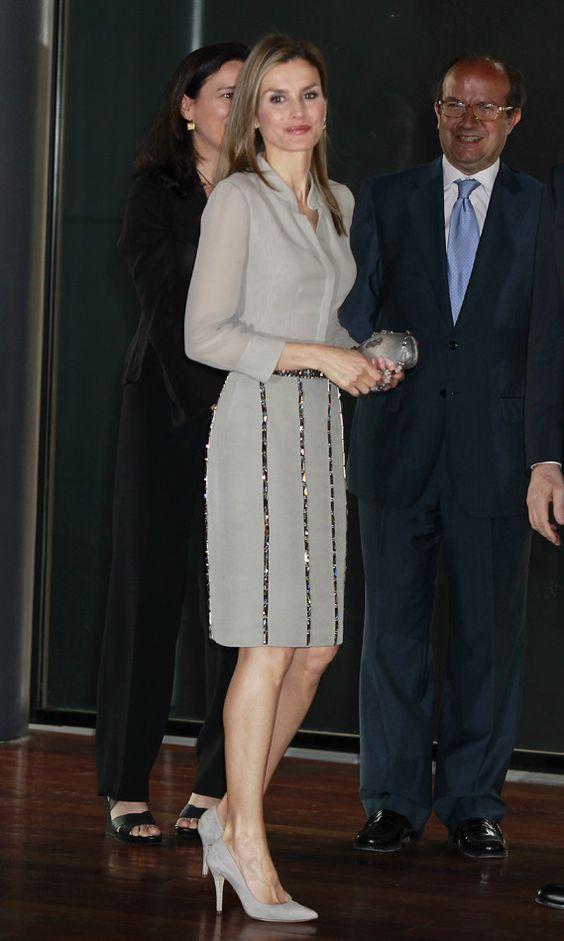 اناقة ليتيزيا ملكة إسبانيا 333e3097377386cba746