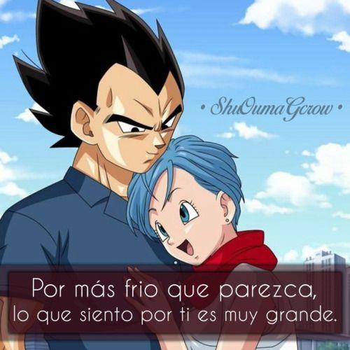 Anime Frases Anime Frases Sentimientos Shuoumagcrow Amor Vegeta Bulma Vegeta X Bulma Vegeta Y Bulma Goku Y Bulma Imagenes De Bulma