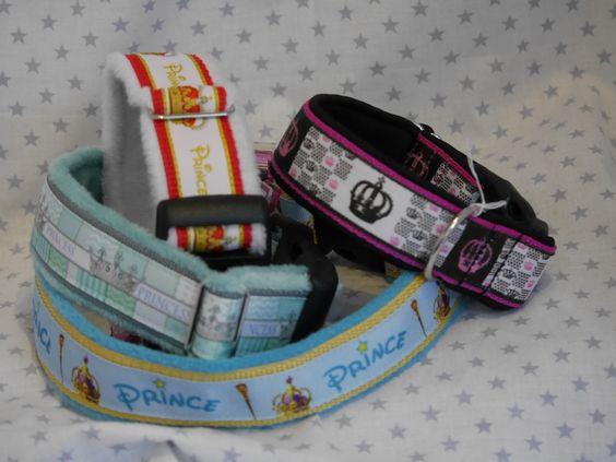 Halsband für Deinen Hund Hier diverse Krönchen und PrinzenDesigns