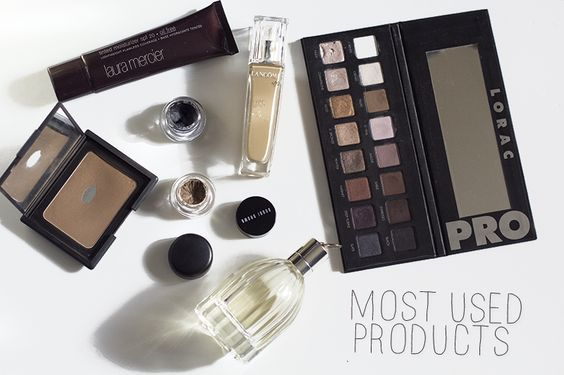 The Most Used (And Abused!) Makeup List  http://www.themistymom.com/2013/11/used-products.html