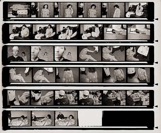 Contact Sheet II  (2010)  From the series Shoulder to Shoulder.