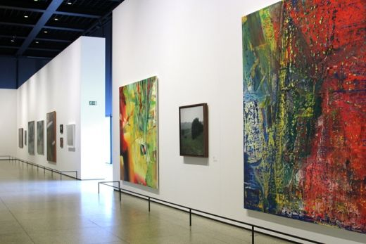 14 Gerhard Richter: Installation shots of Panorama, Neue und Alte Nationalgalerie, Berlin Feb - May 2012