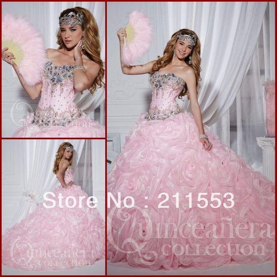 vestidos de 15 años rosa 2014 vestidos de novia de