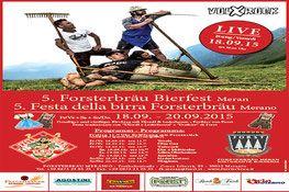 4. Bierfest im Forsterbräu Meran - 4. Festa della birra Forsterbräu Merano…