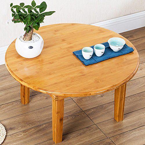 Folding Table Zhirong Portable Round Dining Table Picnic Table Low Table Size 8042cm Low Tables Table Sizes Folding Table