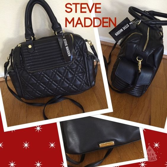 ysl wallets on sale - ??Just in Steve Madden black handbag NWT ??NWT | Black Handbags ...