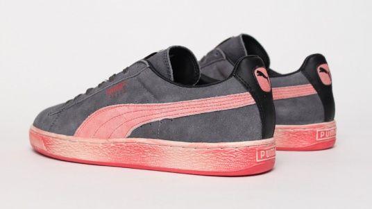 Puma Suede Washed - Red