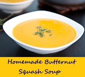 I'm approaching my freezer cooking a little differently this year and doing batches of meals..and I've started with this Homemade Butternut Squash Soup!