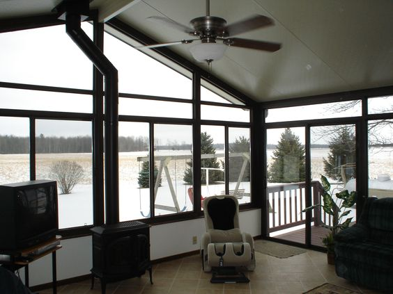 A Warm Sunroom In Winter Needs A Good Heat System A Cozy