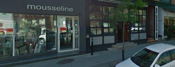 Mousseline, c'est le rendez-vous de la mode à Montréal depuis plus de 30 ans. Entremêlant mode et création, la boutique n'a pas pris une ride et cultive une identité unique chère à notre clientèle de tout âge.   Rose-Marie Randez    (514) 878-0661  boutiquemousseline@videotron.ca 220 Avenue Laurier O, Montréal, Quebec H2T 2N8 Canada http://boutiquemousseline.ca/