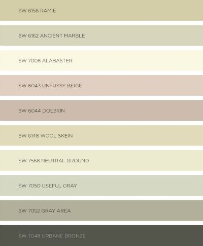 My favorite paint colors from sherwin williams colormix for Beautiful neutral paint colors