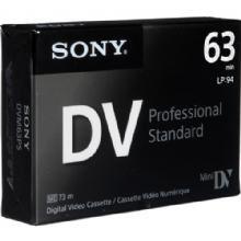 Fita de Vídeo Sony Mini DV - DVC 63 Premium