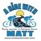 A Ride With Matt fundraising for Huntington's Disease http://aridewithmatt.aquavation.org