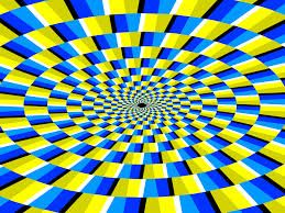 Google 画像検索結果: http://4.bp.blogspot.com/-2yiBnKkyOmY/TdIipURTiwI/AAAAAAAADZQ/bgV92q_Inc4/s640/optical-illusion5.gif