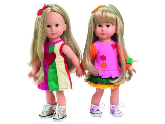 Hannah, yeux bleus, cheveux blonds, 27 cm - GOTZ (913056) - Jeuxetjouetsenfolie