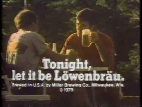 Lowenbrau Beer 1980 TV commercial