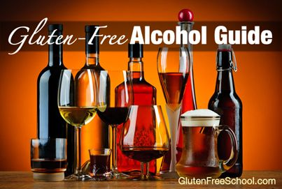 gluten free alcohol drinks -  @Shyler Peters this is for you :-)