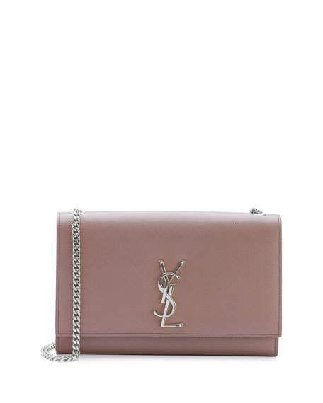 Saint Laurent monogram small kate shoulder bag, blush £1,226.86