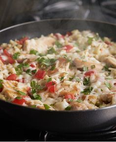 One-Pot Creamy Bruschetta Chicken http://wm13.walmart.com/Cook/Recipes/34165