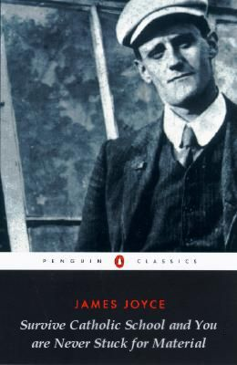 "failedbetterbooktitles: "" James Joyce: A portrait of the artist as a young a man. "" True."