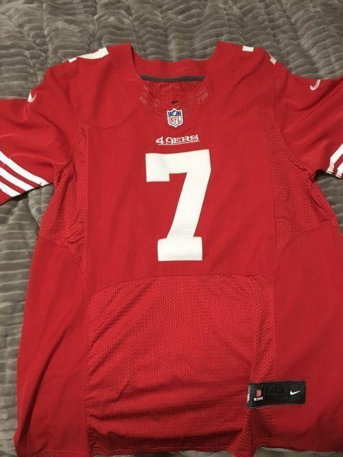 49ers on field jersey