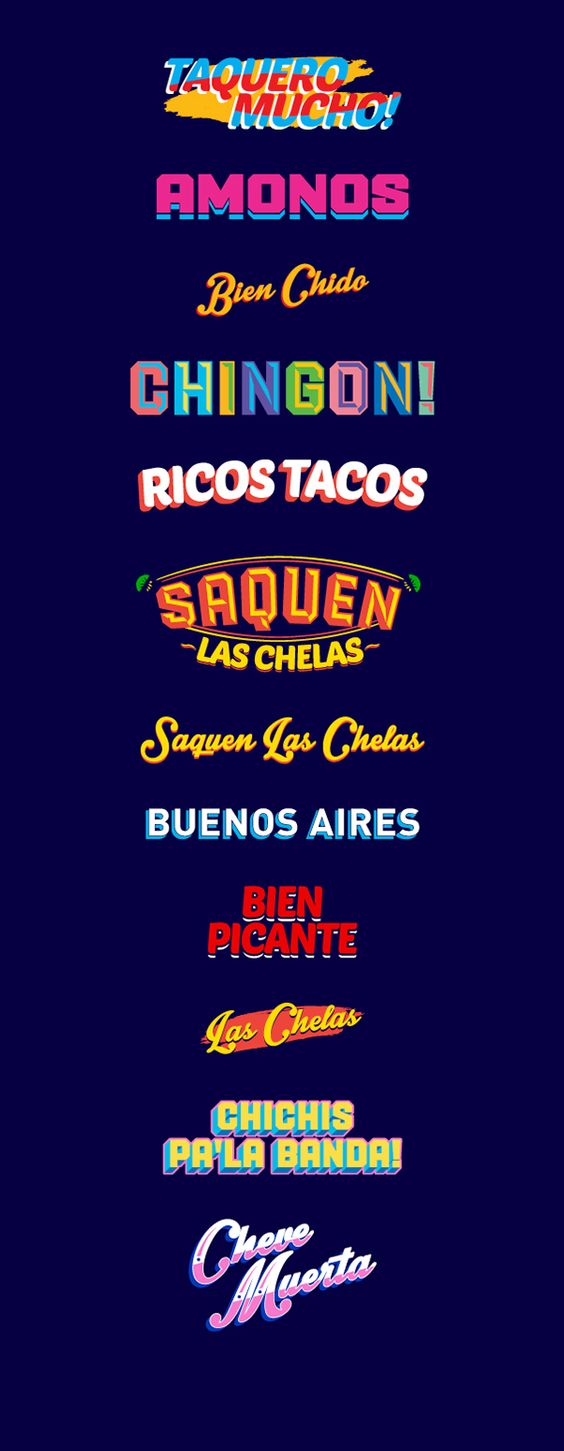 La Fabrica del Taco restaurant branding