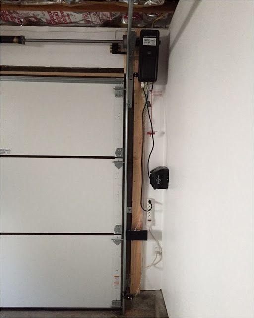 Jackshaft Garage Door Opener In 2020 Jackshaft Garage Door Opener Wooden Garage Doors Garage Door Opener