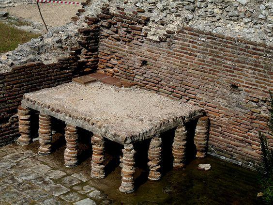 Butrint- Roman Bath House- Hypocaust by Peter Ashton aka peamasher, via Flickr