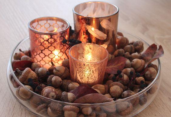 autumn candels