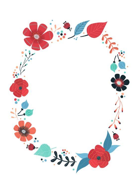 Blooming Wreath Free Printable Birthday Invitation Template Greetings Island verjaarsdag