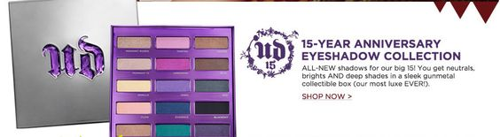 $55 at Ulta and Sephora. I got this last week and LOVE it! ALL new colors which is unique for Urban Decay! They are highly pigmented and lovely!