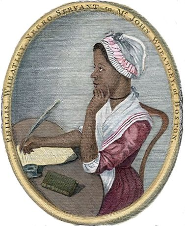 Phillis Wheatley by Scipio Moorhead (c. 1773):