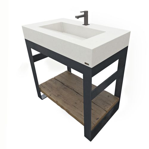 36 Outland Vanity With Concrete Ramp Sink Concrete Sink