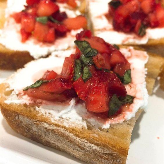 Strawberry Goat Cheese Bruschetta Photos - Allrecipes.com